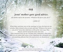 Bible Refresher 37 - Skills Are Optional ^__^ by PoppyCorn99