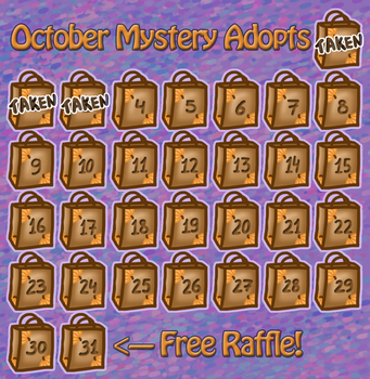 October Mystery Adopts - CLOSED by 102vvv