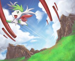 Shaymin: Sky Warrior