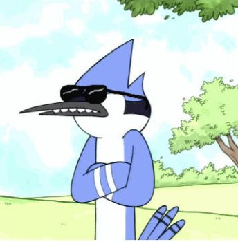 Rugular Show Mordecai: DAT ASS by magnotron