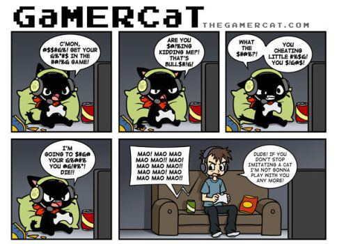 GaMERCaT - Trash Talk by celesse