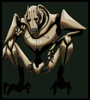 General Grievous 5 -Colored- by PurpleRAGE9205
