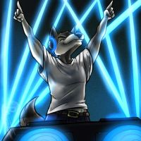 Commission-Raving with DJ Y.N. by Barrin84