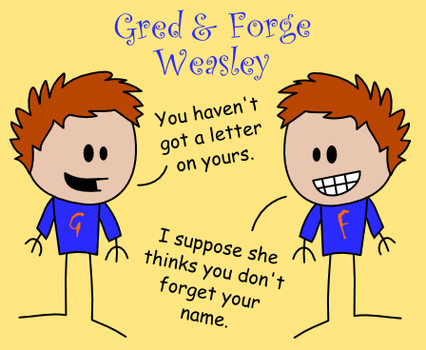 Fred and George Oots-Style by MCSquared42