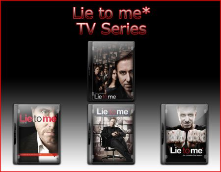 Lie to me Tv Series Icons by jake2456