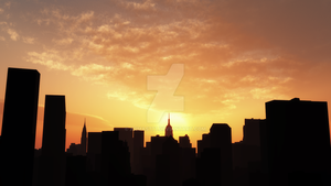 New York City 3D by armas777