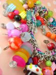 Candyland Chainmaille Bracelet by monsterkookies
