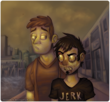 Dan vs. (finished) by Gamibrii