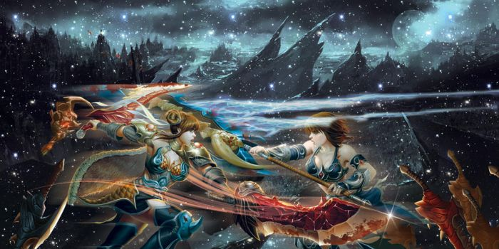 Lady Warriors Fight by rus13devils
