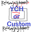 OPEN|TV Head YCH or Custom|NOW TAKING ATs! by RainbowJellybeans7
