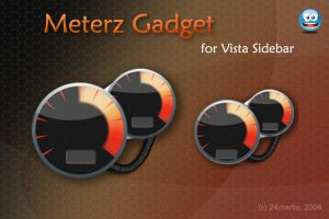 Meterz Gadget for sidebar by 24charlie
