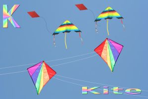 K is for Kite by loloalien