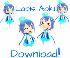 Completed Chibi Lapis + DL by Aira-Melody