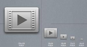 Grey Media player by blymar