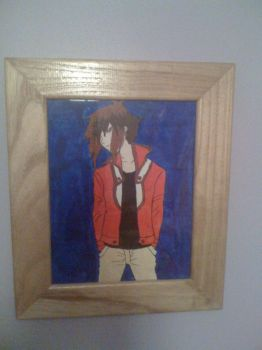 Jaden Yuki painting by ppgz-and-rrbz-lover