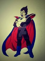 King Vegeta by uchihadauksa