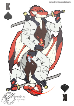 King of Spades by KimericalArtworks