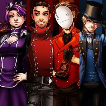 The Top Four by LeopardSixteen