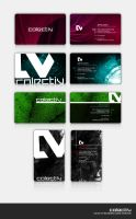 Colectiv Business Cards by auctivsrf