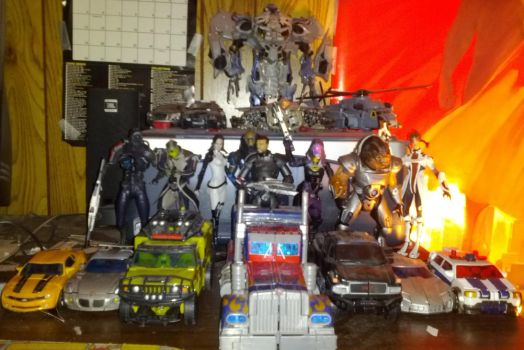 Autobots, Mass Effect and Decepticons by JMoney667