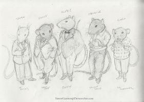 Rats in Suits by SimonGannon