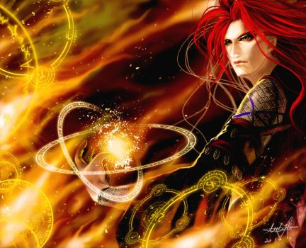 Fire Mage by Milulu48
