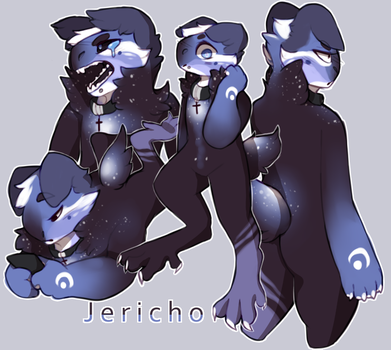jericho sketchpage by silv-r