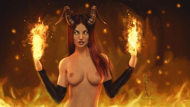 Back in Hell by GolaMartinez