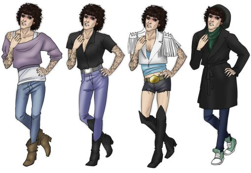 Paper Doll Justin by wandaluvstacos