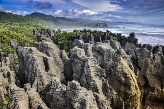 Pancake Rocks by artismagica