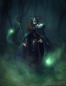 Ezra TheWarlock by volcanicmind by volcanicmind