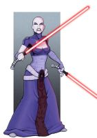Asajj Ventress by Kminor