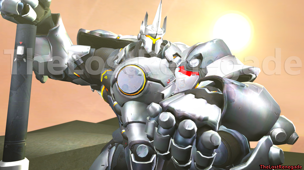 Reinhardt The Last Crusader by TheLostRenegade
