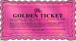 static PINK golden ticket by CeeAyBee