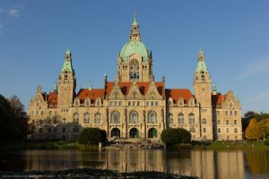 New City Hall Hannover by stromstoerung