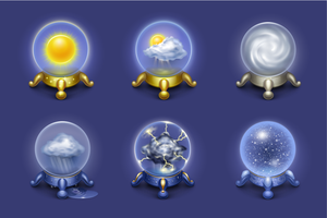 Weather icons by centau