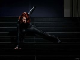Thank you, for your cooperation - Black Widow by CreativeCupcake