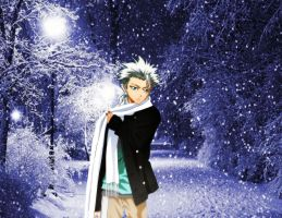 Toshiro-in-winter by laila549
