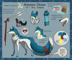 .: Old Reference Sheet :. Sonance Chime1.0 and 2.0 by SweetElectricity