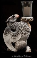 Dapple grey hippogriff by Reptangle