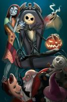 NIGHTMARE BEFORE CHRISTMAS by LidTheSquid