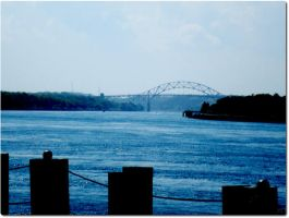 Cape Cod Canal and Bridge by singovermyradio