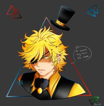 The bow tie [Gravity Falls- Bill Cipher]  by Six-0-6