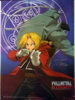 FMA Scroll Signed by Vic by DoctorTonyStarkWho