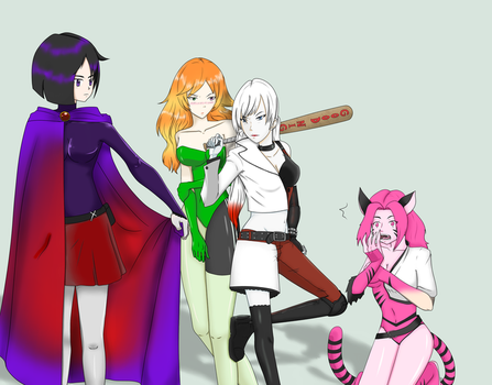 RWBY Super Transformation by No-Face-girl