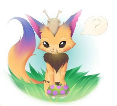 Gnar - League of Legends by PokeLyria