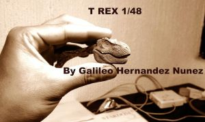 T REX 1:48 scale WIP by GalileoN