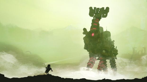 Breath of the Colossus by SoyUnGnomo
