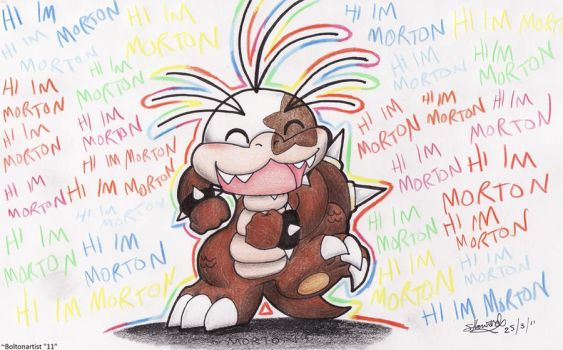 .::HI IM MORTON::. by Boltonartist