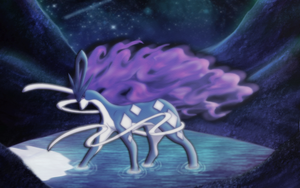 Legendary Suicune by macalaniaa